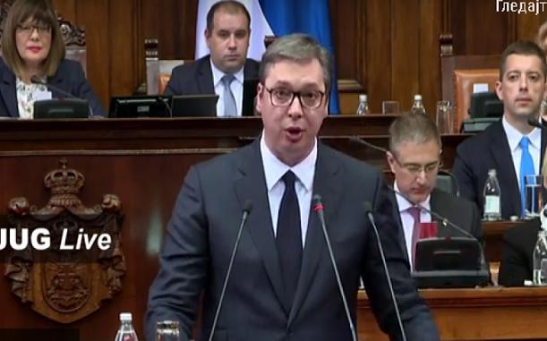 Sednica o Kosovu i Metohiji; Vučić: Vreme da biramo između slatkih laži i gorke istine (uživo)