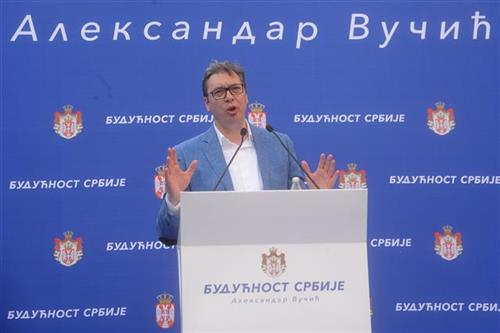 Vučić: Srbija jača od svih koji žele da je sruše