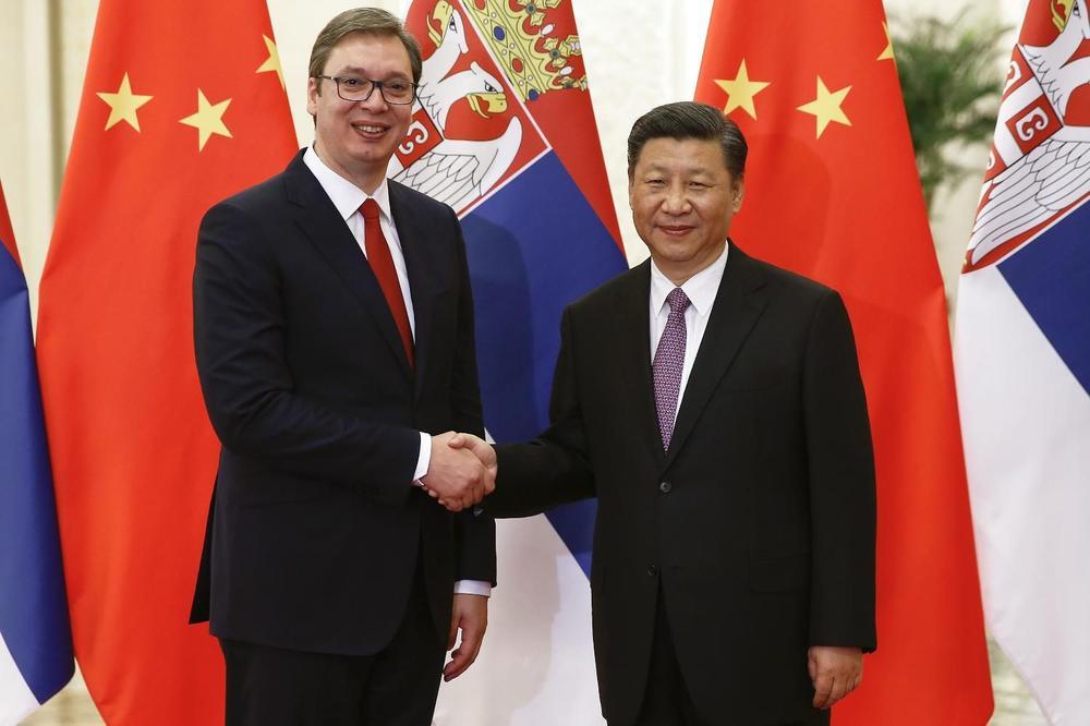 Si Đinping pozvao Vučića na Drugi Forum Pojas i put