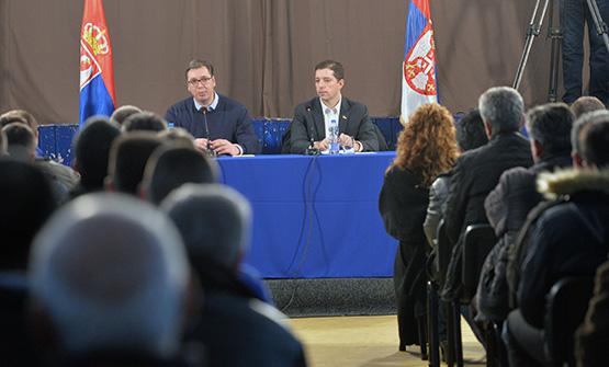 U petak sastanak Srba sa KiM sa predsednikom Vučićem