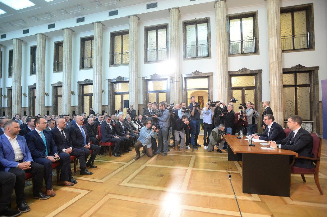 Vučić: Ovo je najbolja potvrda politike jedinstva