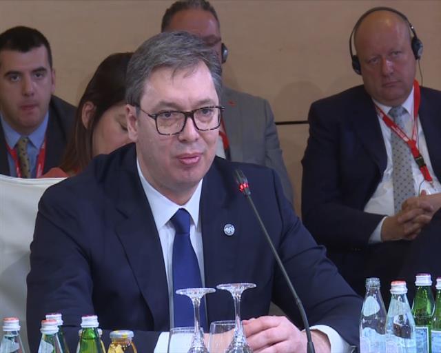 Vučić: U ovom trenutku godinama smo udaljeni od mogućeg rešenja