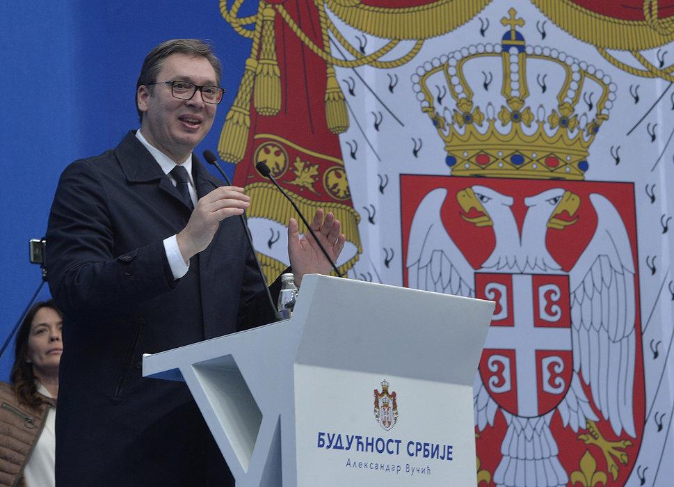 Vučić: Dva poklona za Novi Sad - dve investicije od po 50 miliona evra