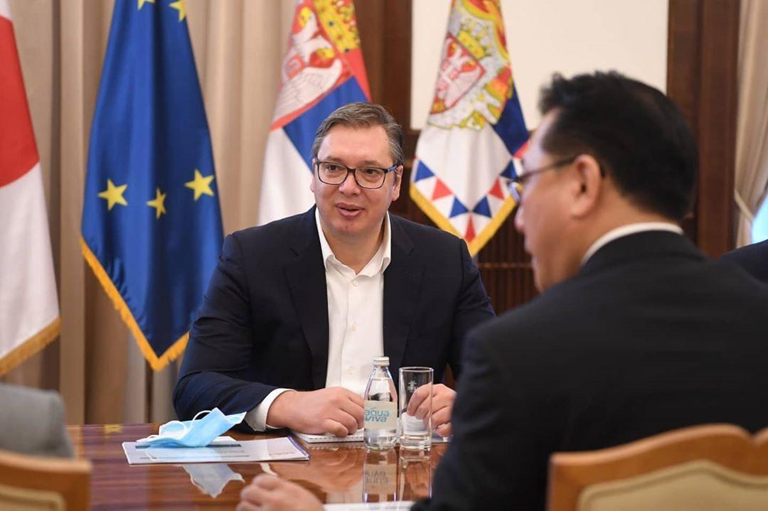 Vučić sa predstavnicima Nideka o ulaganju u Srbiju