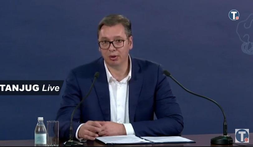 Vučić o sinoćnjem protestu: I sami znaju da su kršili zakon, neću scene iz Pariza