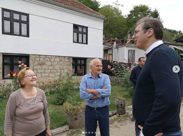 Vučić nenajavljeno obišao Knjaževac
