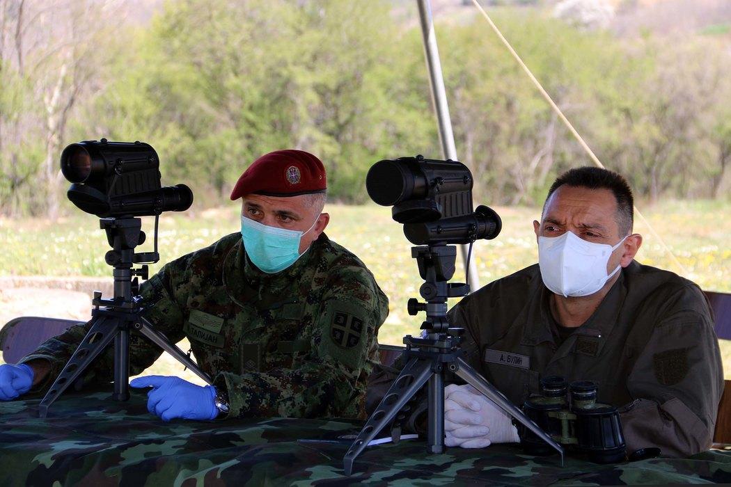 Vulin: Postupci vojnika u migrantskim centrima po pravilima službe, Prva brigada bila prva na udaru