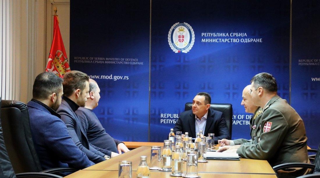 Sastanak Vulina i producenata projekta