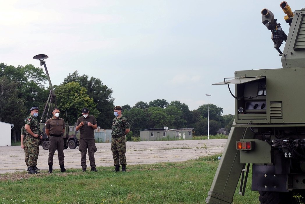 "Vulin: Razvoj sistema PASARS i modernizacija radara ""Žirafa"