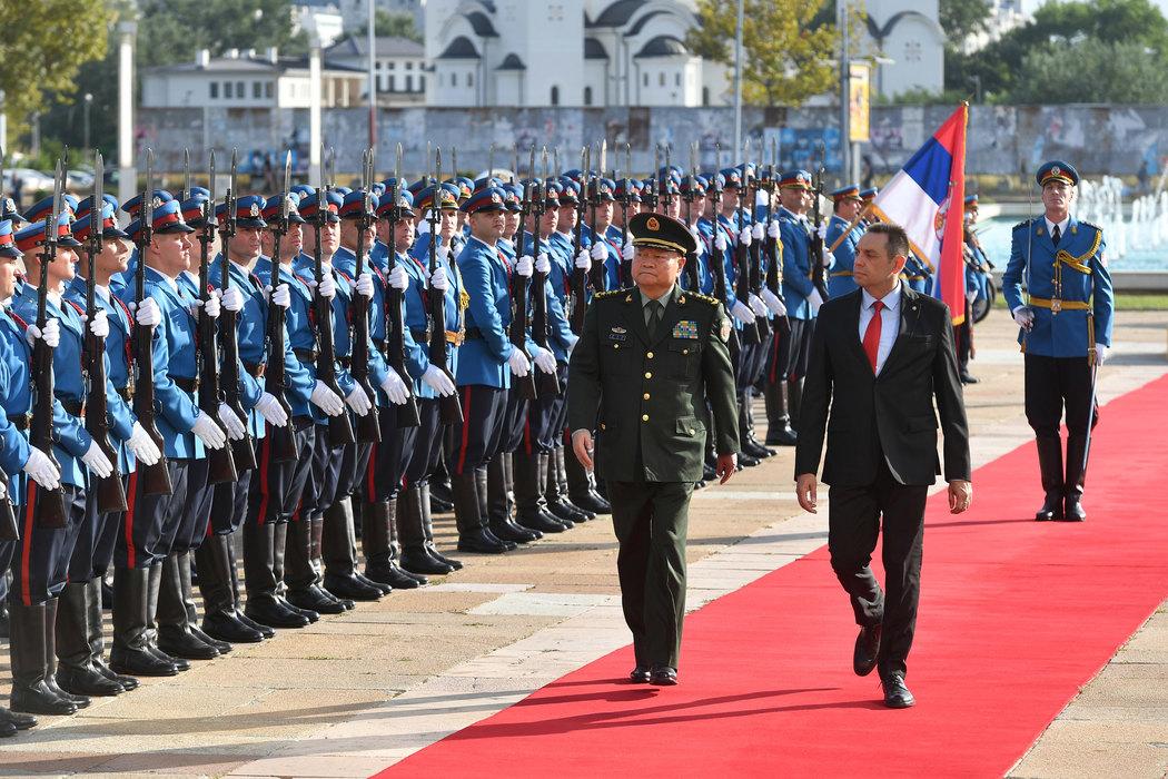 Vulin: Čelično prijateljstvo naroda Srbije i Kine