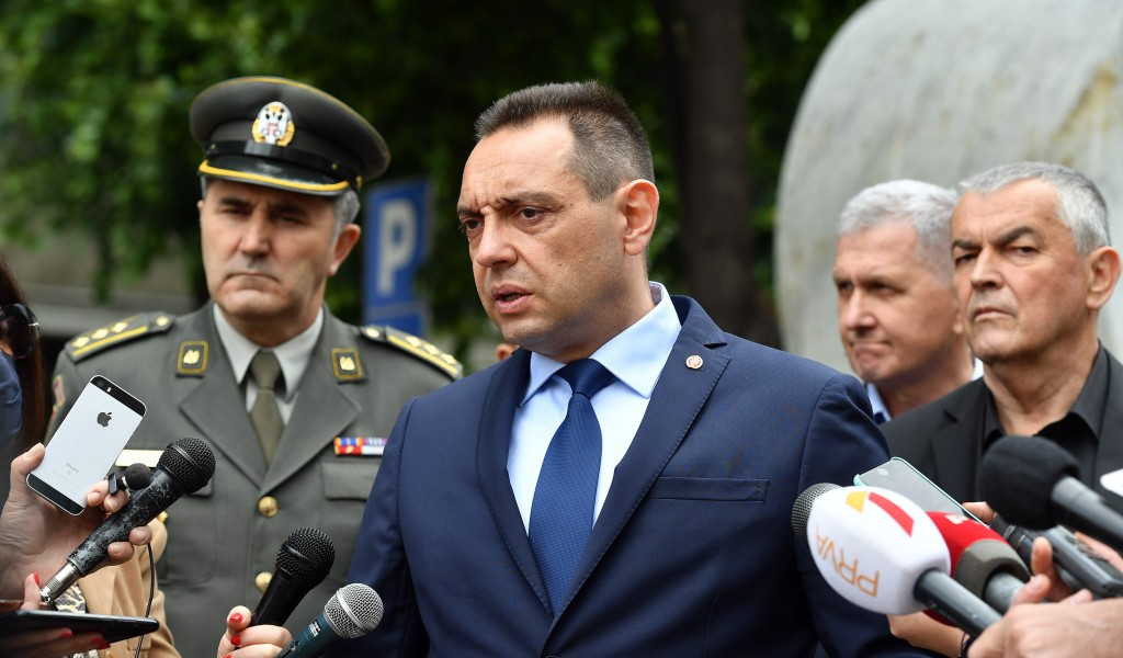 Vulin: Vlast u Crnoj Gori se ne bori protiv virusa, već protiv Srba