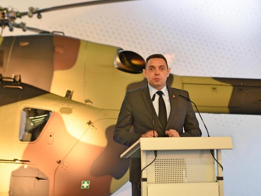 Vulin: Sledeće godine stižu helikopteri iz Rusije, sami biramo šta ćemo da nabavimo