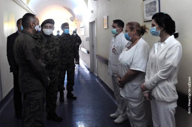 Vulin: Stalni posao u vojnom zdravstvu dobiće još 195 ljudi