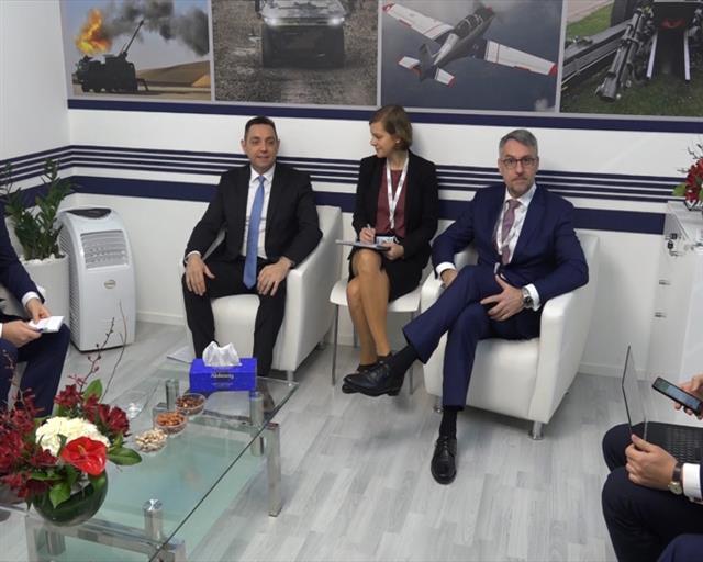 Vulin sa ministrima odbrane Grčke, Češke i UAE o saradnji