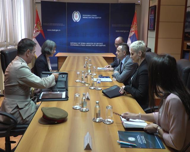 Vulin sa britanskom ambasadorkom: Srbija i Velika Britanija imaju zajedničku istoriju