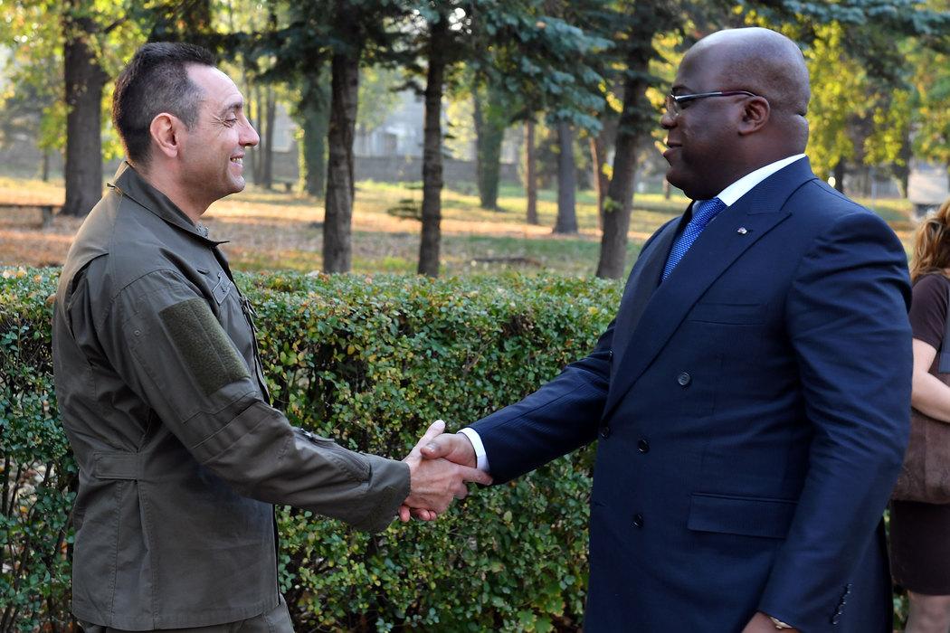 Vulin i predsednik Republike Kongo obišli kapacitete Vojne akademije