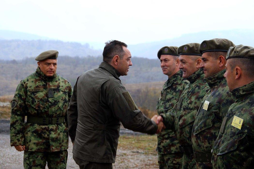 Vulin: Pripadnici Vojske Srbije spremni i motivisani za svaki zadatak