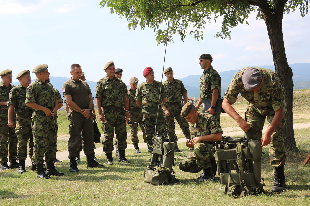 Vulin: Vojska Srbije je vojska mira