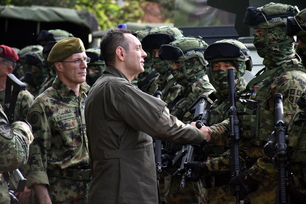 Vulin: Naši vojnici pokazali su izuzetnu obučenost