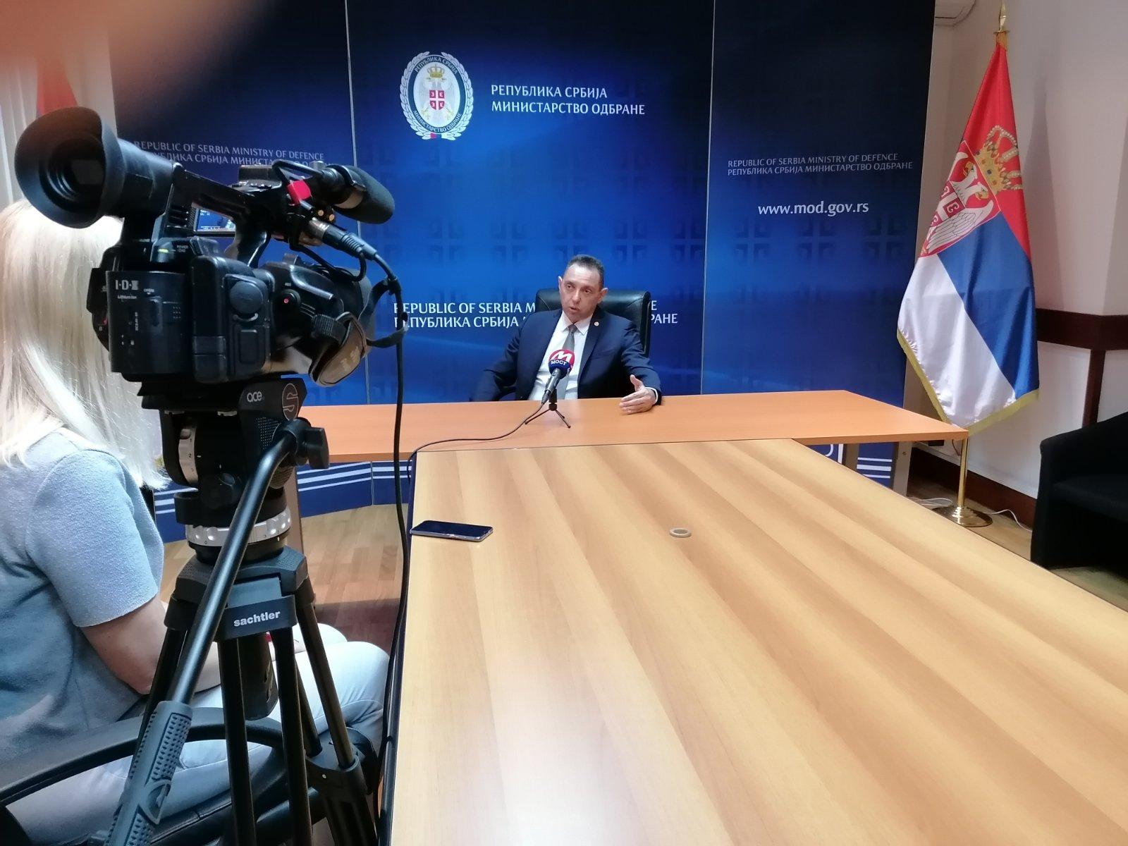 Vulin za TV Most: U Prištini će uvek uraditi nešto protiv Srba (video)