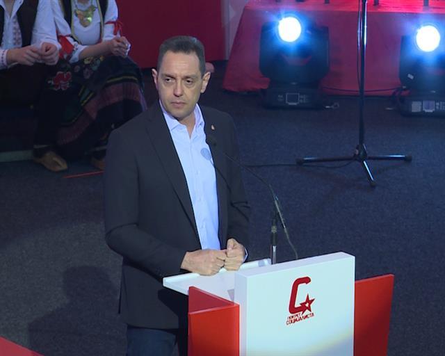 Vulin: Izbori su borba za nastavak politike stabilnosti