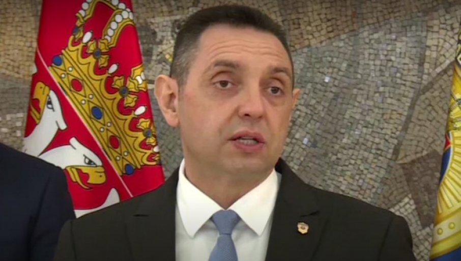 Vulin: Milanović pripada prikrivenim sledbenicima ustaša