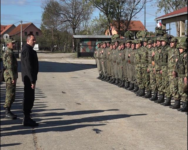 Ministar Vulin: Stanje u Vojsci Srbije se menja na bolje