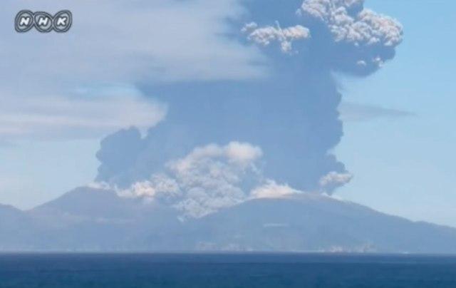 Nova erupcija vulkana Aso u Japanu