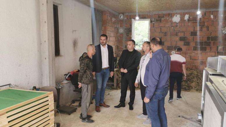 Vulović obišao poljoprivredne proizvođače u Zubinom Potoku