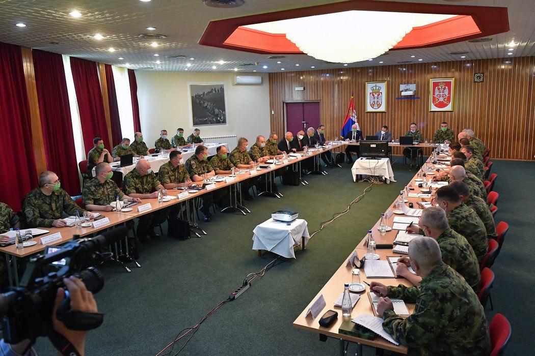 Kolegijumi ministra odbrane i GŠ VS: Zahvaljujući vrhovnom komandantu unapređene operativne sposobnosti