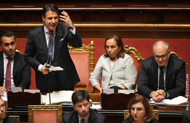 Izglasano poverenje novoj italijanskoj vladi u Senatu