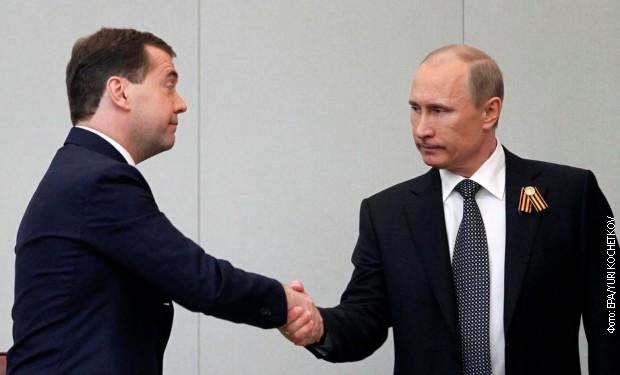Putin predložio zakon o novoj funkciji za Medvedeva