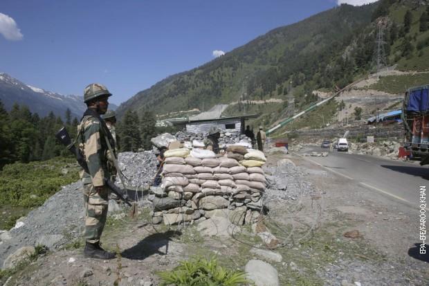 Sukob na granici Indije i Kine