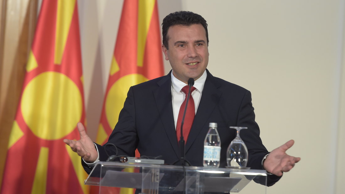 Zaev: Dogovor iz Ohrida za bolji život i miroljubivi Balkan