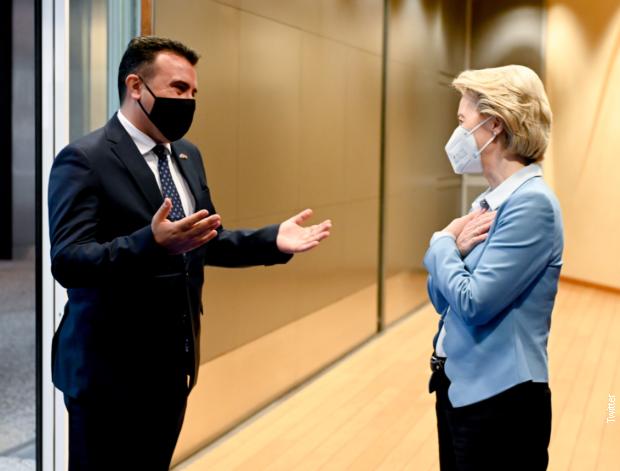 Zaev: Makedonski identitet nije predmet pregovora