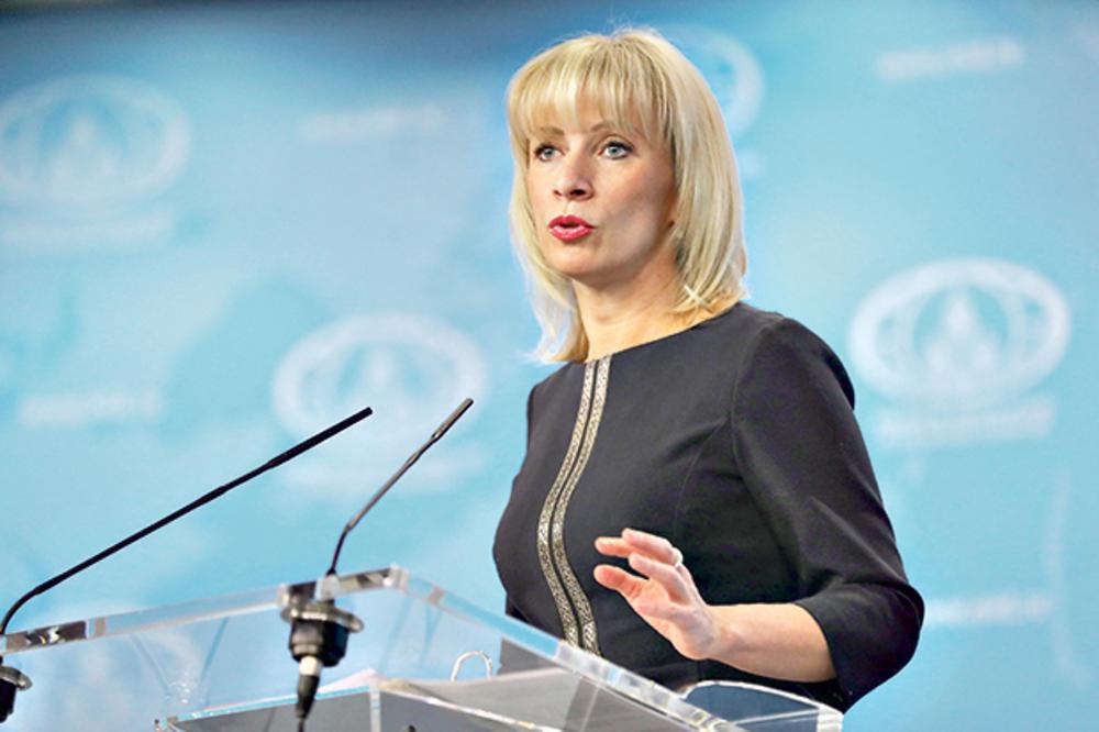 Zaharova: Podrška NATO Kijevu destabilizuje Ukrajinu
