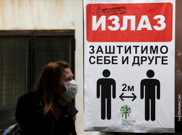 Na virus korona pozitivno još 148 osoba, umrlo još 5, ukupno 44