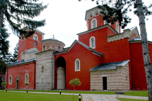 Dačić na liturgiji u Žiči povodom 8 vekova autokefalnost SPC