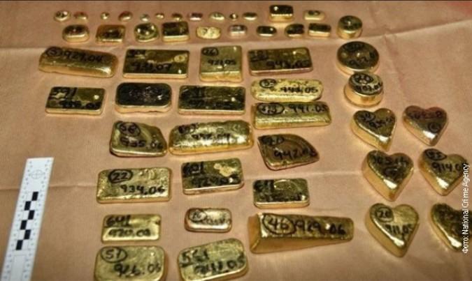 Britanci zaplenili 104 kilograma zlata vrednosti 4,5 miliona evra
