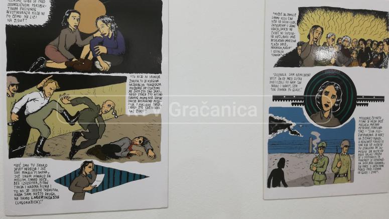 """Otvorena izložba """"Pisma Hilde Dajč"""" u Gračanici"""