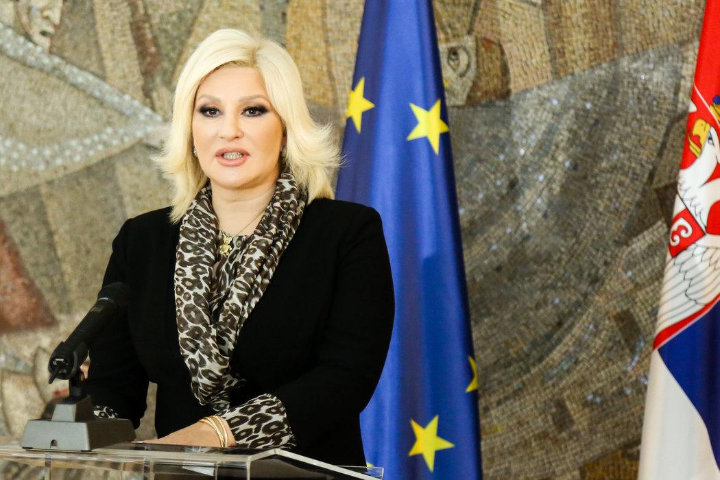 Zorana Mihajlović: Novi pokušaj izazivanja sukoba