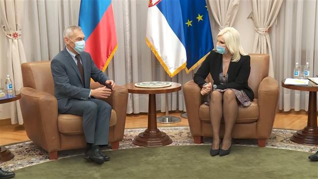 Mihajlovićeva i Bocan-Harčenko: Učinićemo saradnju u energetici još boljom i efikasnijom